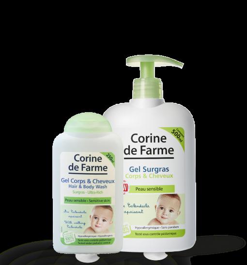 Lait de toilette Corine de Farme CDFLAIT