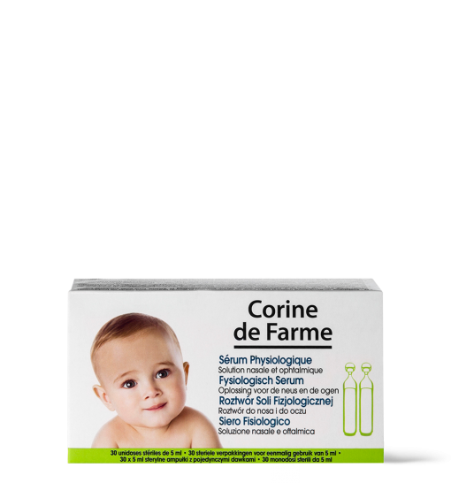 SERUM physiologique corine de farme